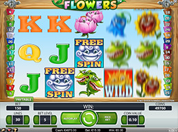 'Flowers'-screenshot