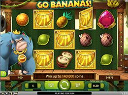 'Go bananas'-screenshot